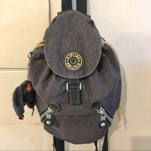 Small Kipling Backpack (Gray)